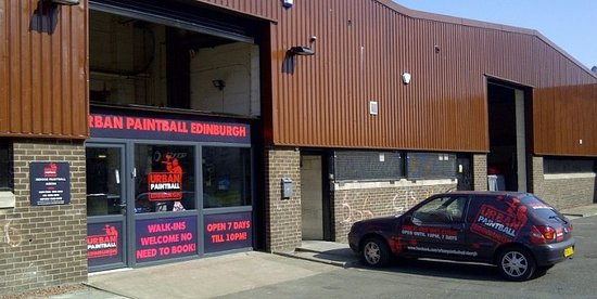 Bedlam Paintball Edinburgh City Centre: Welcome To Indoor Paintball Edinburgh