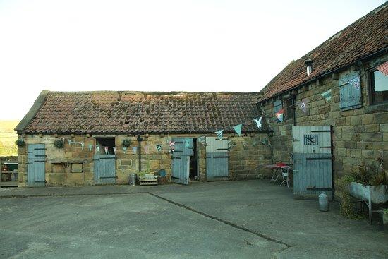 La Rosa Campsite: Swallow Barn Exterior