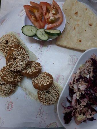 Alhamdulillah Restaurant : FALAFEL