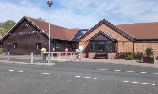 Ludlow Touring Park: Reception and facilities block