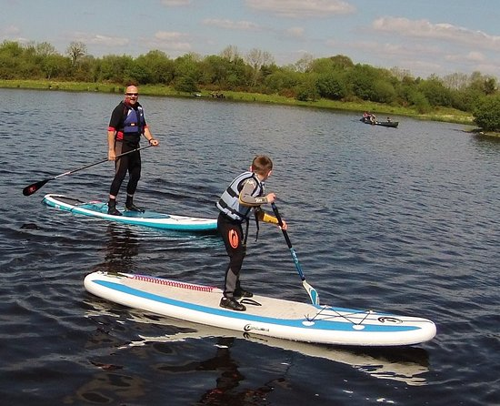 Lisnaskea, UK: Stand Up Paddle Board Session