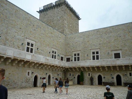 Castle of Diósgyőr: In the court yard