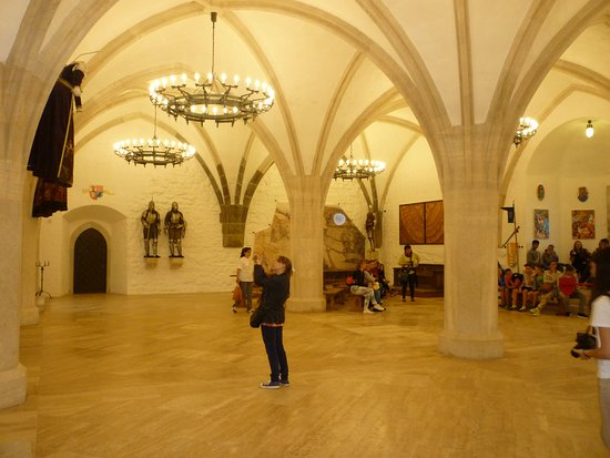 Castle of Diósgyőr: The Great Hall