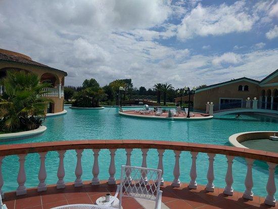 Lago Real: piscina