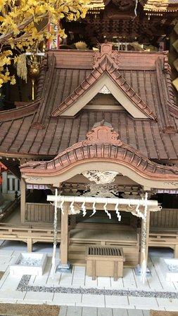 Tanashi Shrine: お社模型 (2018/05/26)