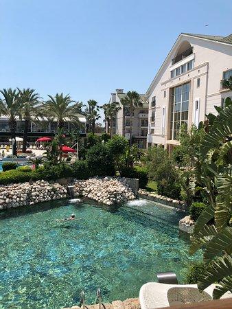 Alva Donna Exclusive Hotel & Spa: Вид с балкона