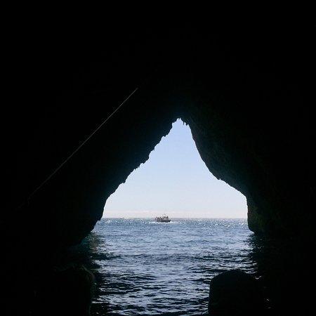 In barca nel Salento照片