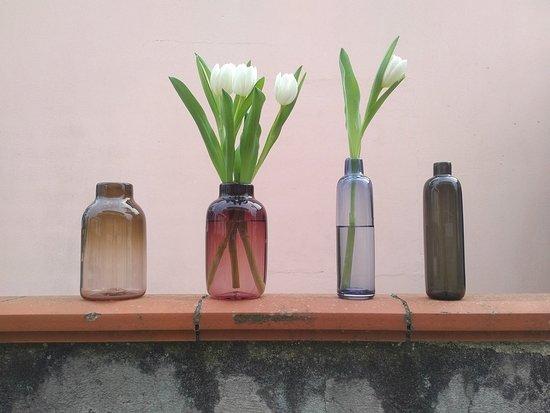 Buttis vase tipii atelier souflage de verre cadeau