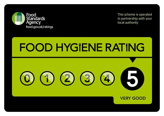 The Old Bank Cafe: Awarded a food hygiene rating of 5