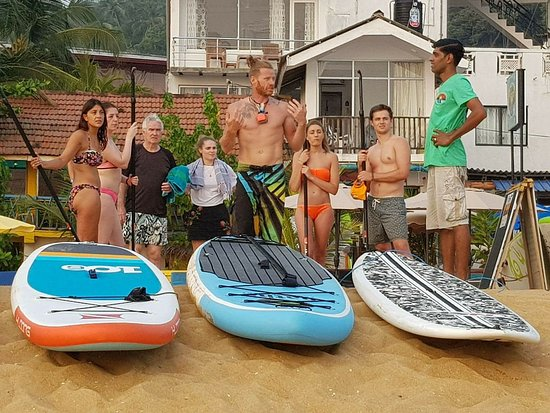 Унаватуна, Шри-Ланка: Instructor Lesson with Stevie (our onsite instructor) -  Group Sunset Session - Unawatuna Bay