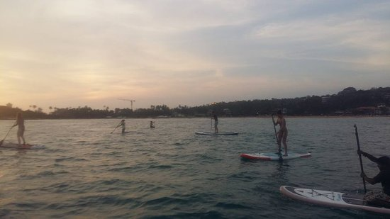 SUPer Juice Bar & Paddleboard Hire: Group Session - Out to See the Sunset - Unawatuna Bay