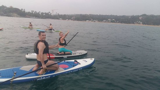 SUPer Juice Bar & Paddleboard Hire: Learning to SUP - Unawatuna Bay