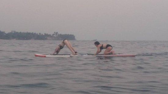 SUPer Juice Bar & Paddleboard Hire: SUP Yoga - Sunset Session - Unawatuna Bay