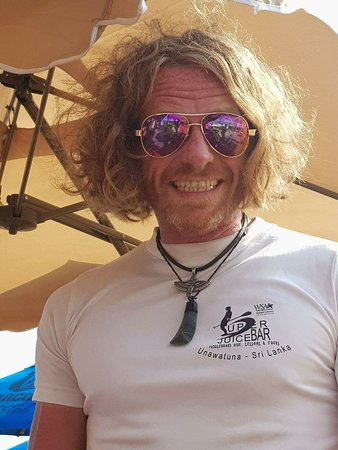 SUPer Juice Bar & Paddleboard Hire : Super Juice SUP Instructor Stevie