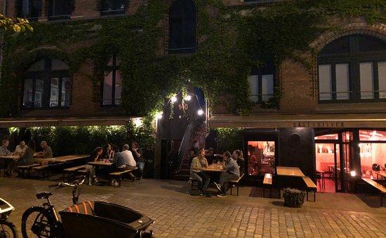 Salt & Silver - Zentrale : Restaurant gegen Ende des Abends