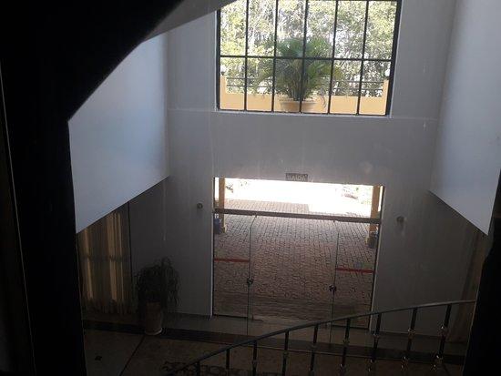 Hotel Paradies: Vista do elevador panorâmico