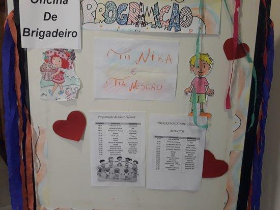 Hotel Paradies: Programação das atividades infantis!