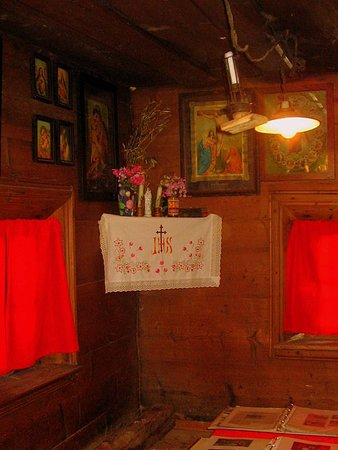 Srednja vas v Bohinju, Słowenia: Interior in Oplen House, Studor