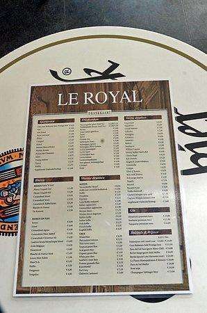 เซ็นทรัลสเตชั่น: Décoration du Royal-Café, avec 1830, année de l'indépendance de la Belgique