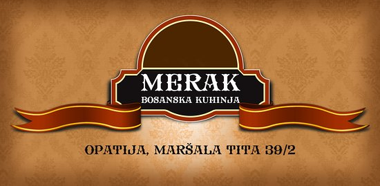 Bosanska kuhinja Merak: Merak logo