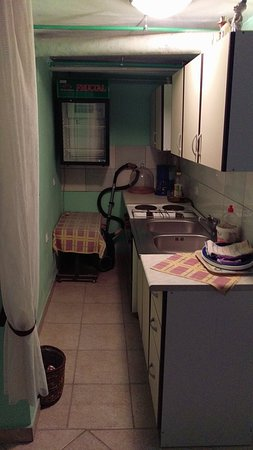 Setnik Guesthouse: Kitchen, apliances weren`t conected to power. Fridge was very smelly.