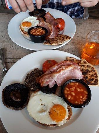 Balquhidder, UK: Full Scottish breakfast