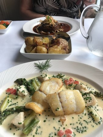 The Orange Tree Restaurant: Brill and Tournedos