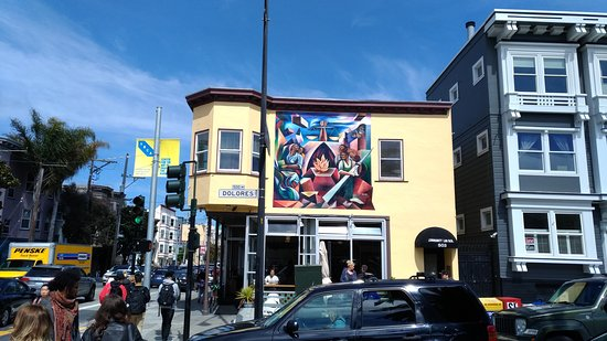 San Francisco, Californie: Diego Rivera, Mission District