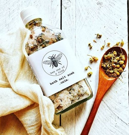 House Of Handmade : Soak yourself in these gorgeous bath salts