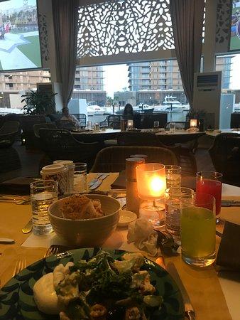 Bulgari Resort Dubai: other view of table and decor