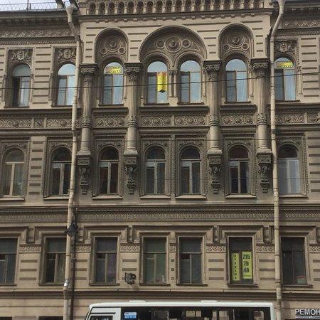 House of Kosikovskiy - Finance House of Tupikov: Дом Косиковского - Доходный дом А.М. Тупикова, вид с Литейного проспекта.