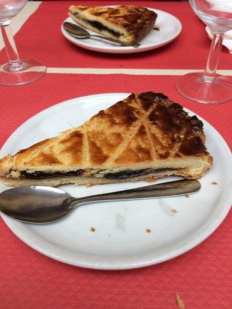Melle, فرنسا: dessert