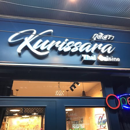 Kurissara Thai Cuisine: We are here right now, the foods are good, tasty and real authentic Thai food!  If you love Thai