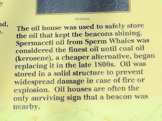 Fernandina Beach, FL: made a quick stop to see the oil house