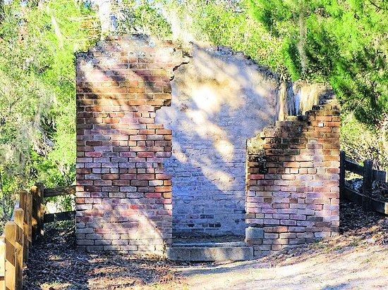 Fort Clinch State Park: oil house
