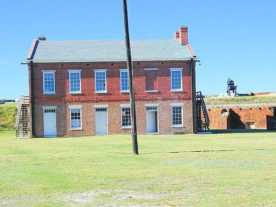 Fort Clinch State Park: enlisted men barracks