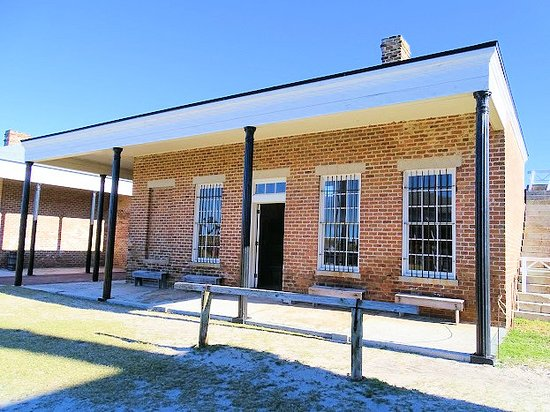 Fort Clinch State Park: prison