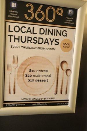 360Q: The restaurant