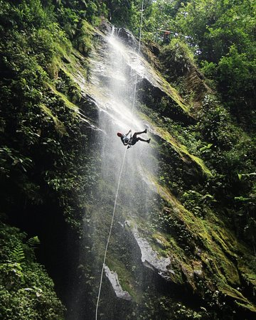 Canyoning Costa Rica Maquique Adventure
