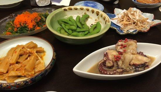Nippon Tei: ちょっとヤッツケ気味な居酒屋っぽいオツマミ