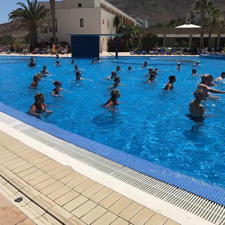 Tuineje, Spain: Vandgym med forskellige instruktører 15:15 hver dag. Andrew styrer for vildt!