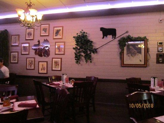 Rod's Steak House: Interno