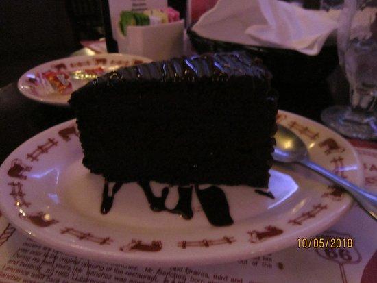 Rod's Steak House: Torta al cioccolato