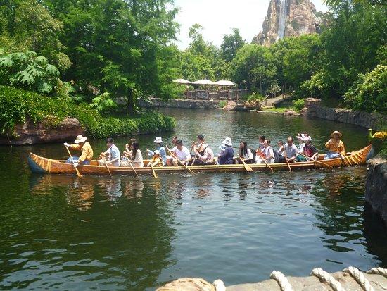 Shanghai, Chine : Canoe Activity at Adventure Isle