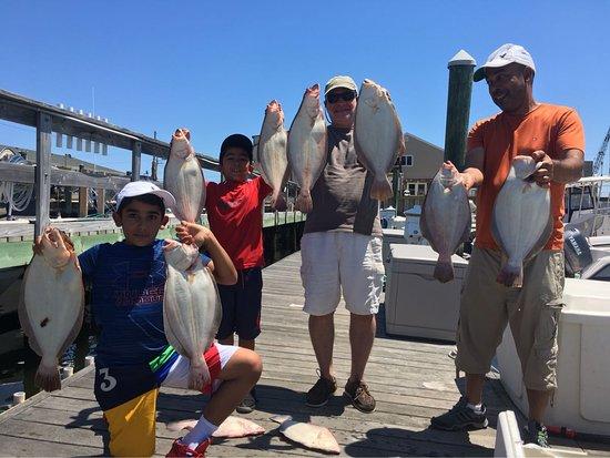Jenna P Sportfishing : Fluke Charter Highlands NJ
