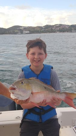 Fishing St. Croix: One of the biggest Mutton Snappers we have caught