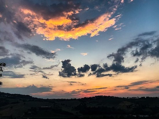 La Cicala : tramonto