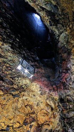Inside The Volcano: Inside