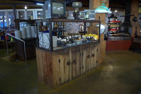 Chao Nativo: Buffet do restaurante Chão Nativo