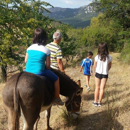 Muneta, Spania: Paseando con Peio